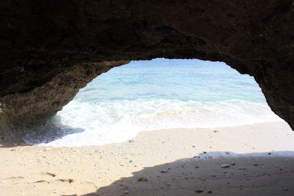 カベール岬トンネルの景色