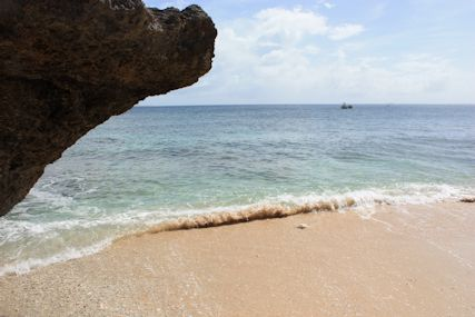 カベール岬砂浜