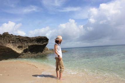 カベール岬砂浜maki