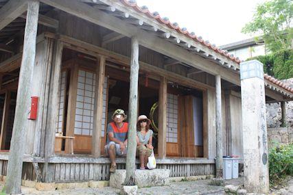 金城町の石畳赤瓦