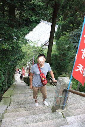 2014july6竹生島階段ひとし