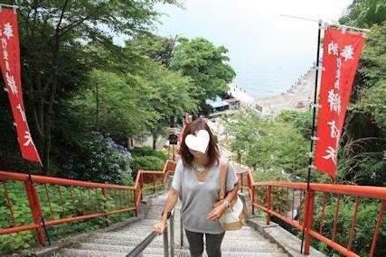 2014july6竹生島階段マキ