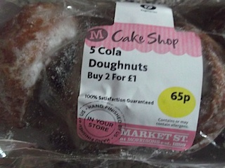 2014-08-06 cola doughnuts