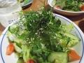 タネツケバナのサラダ