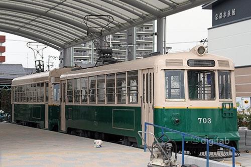 京都市電703 梅小路