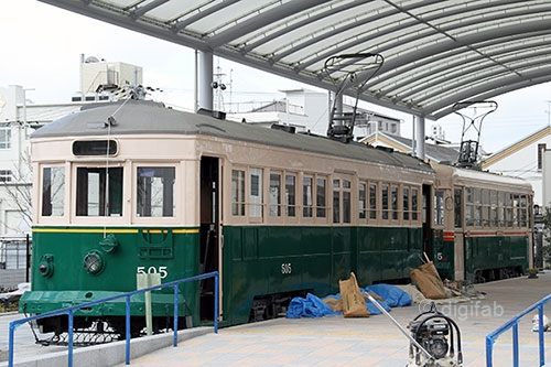 京都市電505 梅小路