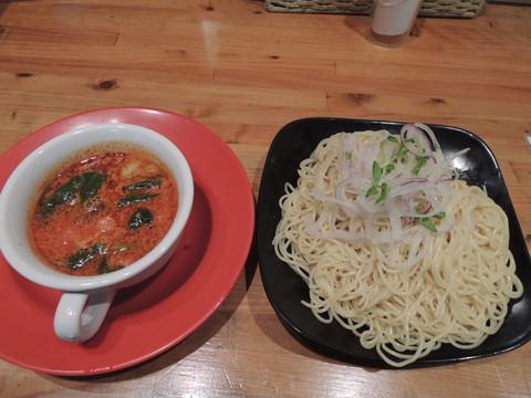 とまとつけ麺(2玉)(780円)