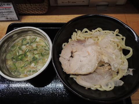 鶏つけ麺(大)250g(800円)