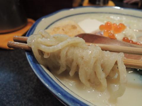 薫る豆乳三の麺