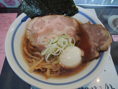 特製草庵正油らぁ麺(950円)