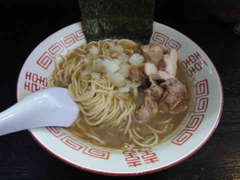 微乳化中華ソバ(750円)