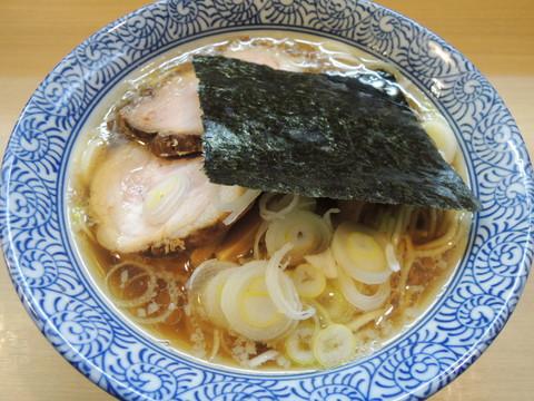 中華そば(極上煮干し強化週間)(680円)