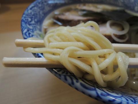 中華そば(極上煮干し強化週間)の麺