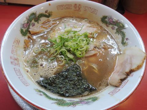 濃厚豚骨煮干(並)(850円)