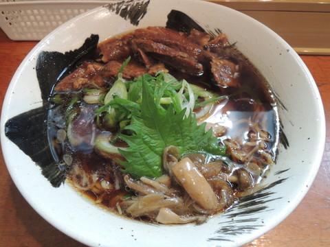 肉醤油らーめん(900円)