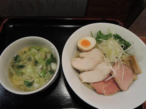 鶏と白菜の塩つけ麺(並盛200g)(850円)
