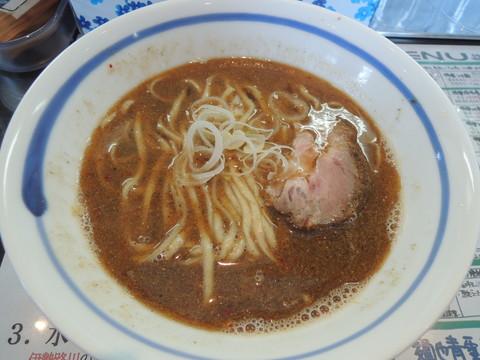 焼鯵正油らぁ麺(かけ)(730円)