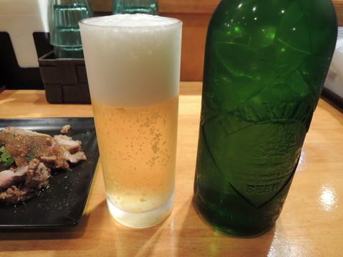 ビール(ハートランド)(500円)