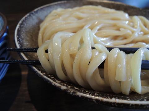 濃厚つけ麺(大)の麺