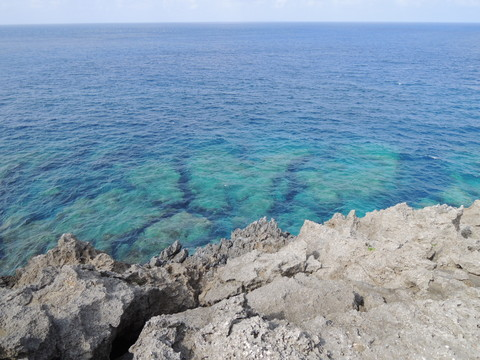 辺戸岬からの眺め