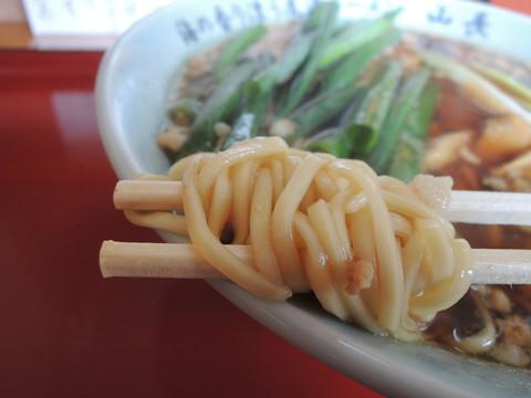 尾道ラーメンの麺