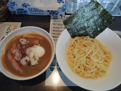 特製つけ麺甘エビ(1180円)