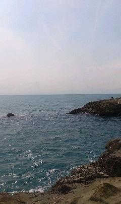 江ノ島 海