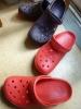 今日から赤い靴です