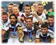 ワールドカップ優勝国 ドイツ