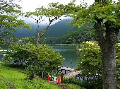 夏の田貫湖-2