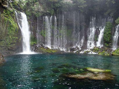新装夏の白糸の滝-5