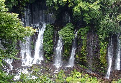 新装夏の白糸の滝-6