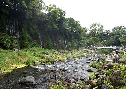 新装夏の白糸の滝-7