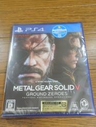 PS4 MGSⅤ メタルギアソリッド5 グラウンド・ゼロズ1