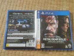 PS4 MGSⅤ メタルギアソリッド5 グラウンド・ゼロズ2