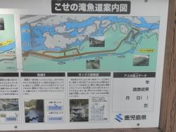 桜満開こせ渓谷 こせの滝魚道 CBR250R 2
