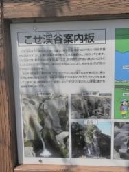 s-桜満開こせ渓谷 こせの滝魚道 CBR250R 5