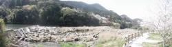 s-桜満開こせ渓谷 こせの滝魚道 CBR250R 8