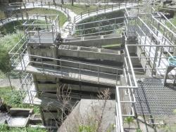 s-桜満開こせ渓谷 こせの滝魚道 CBR250R 17