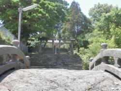 s-南方神社 御朱印 枕崎市1