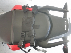 CBR250R シートバッグ サイドバッグ装着1