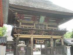 九州一周バイk旅CBR250R 1日目5青井阿蘇神社