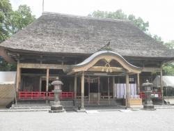 九州一周バイk旅CBR250R 1日目6青井阿蘇神社