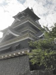 九州一周バイk旅CBR250R 1日目20熊本城