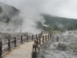 s-九州一周バイk旅CBR250R 2日目13雲仙地獄1