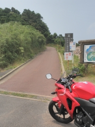 s-CBR250R九州一周ツーリングの旅3日目3