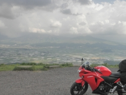 CBR250R九州一周ツーリングの旅7日目30