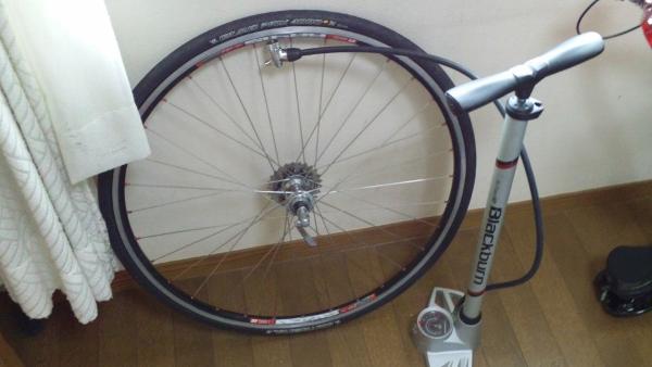 自転車の 自転車のタイヤ交換 自分で : ... 自転車のタイヤを交換して