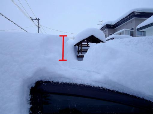 s-409-1車の積雪