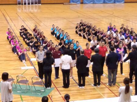 高校北信越 表彰式